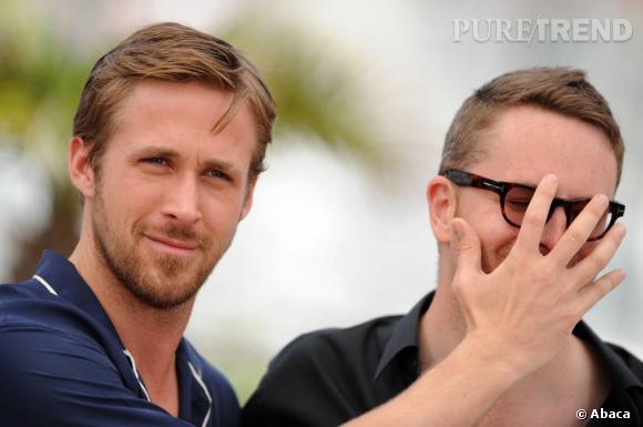 Ryan Gosling et le réalisateur Nicolas Winding Refn.
