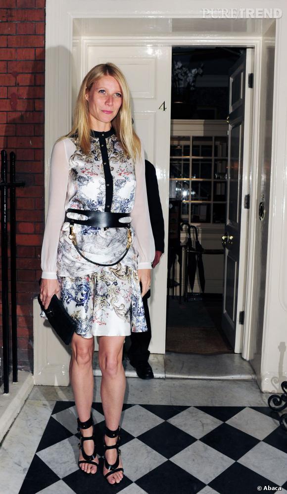 Gwyneth Paltrow l'avoue bien volontiers, son emploi du temps en tant que mannequin est plus pratique pour passer du temps avec sa famille.