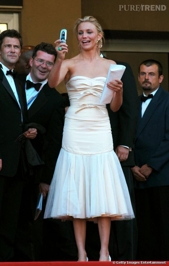 Cameron Diaz est fan du Festival de Cannes.