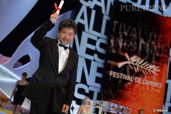 "Hirokazu Koreeda remporte le Prix du Jury pour ""Tel père tel fils""."