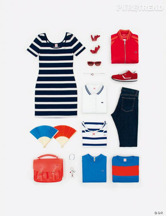 Zoom Lacoste L!ve Printemps-Eté 2013 : collection must have !
