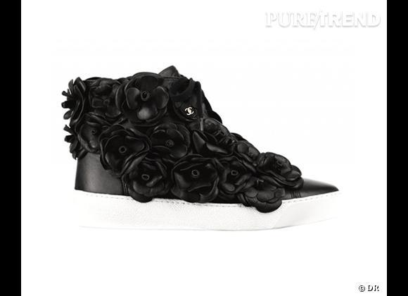 Fashion obsession : des baskets hype ! Baskets Chanel, 1400 €