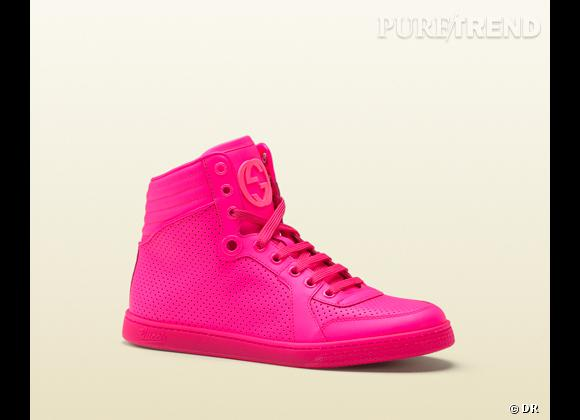 Fashion obsession : des baskets hype !    Baskets Gucci, 495 €