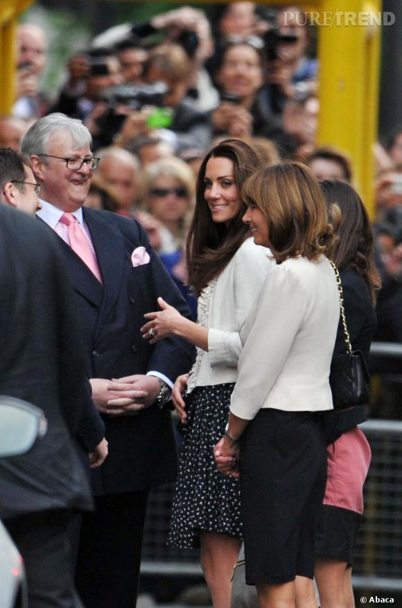 Retour chez papa maman après son accouchement pour Kate Middleton.