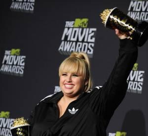 Rebel Wilson aux MTV Movie Awards 2013 a gagné le prix de l'actrice de l'année.