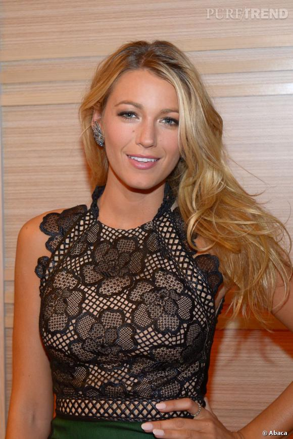 Les plus beaux blonds d'Hollywood : Blake Lively et son blond tout en nuances.