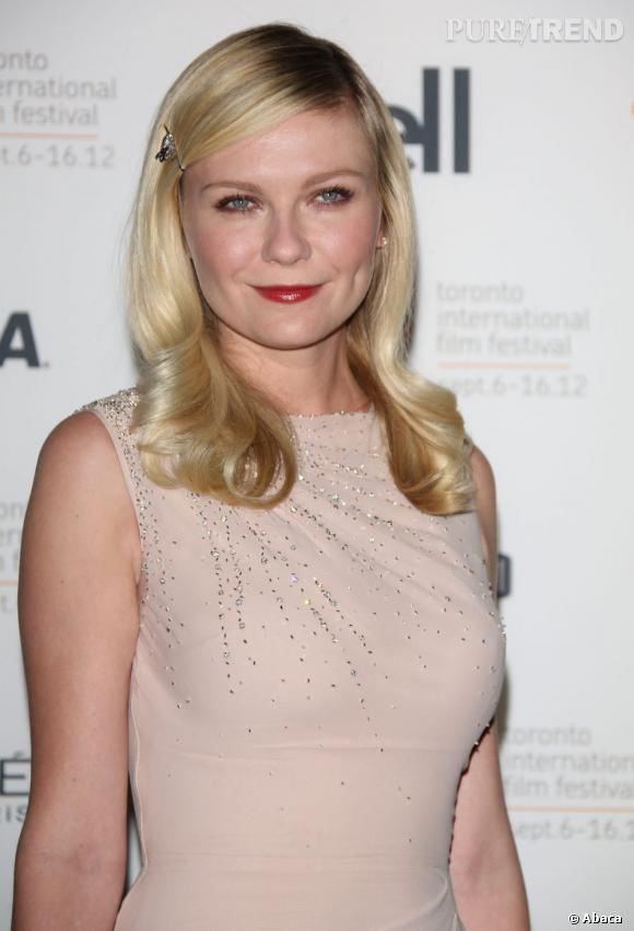 Les plus beaux blonds d'Hollywood : Kirsten Dunst affiche un blond de bébé.