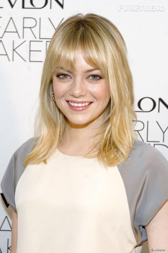 Les plus beaux blonds d'Hollywood : Emma Stone, blonde comme les blés.
