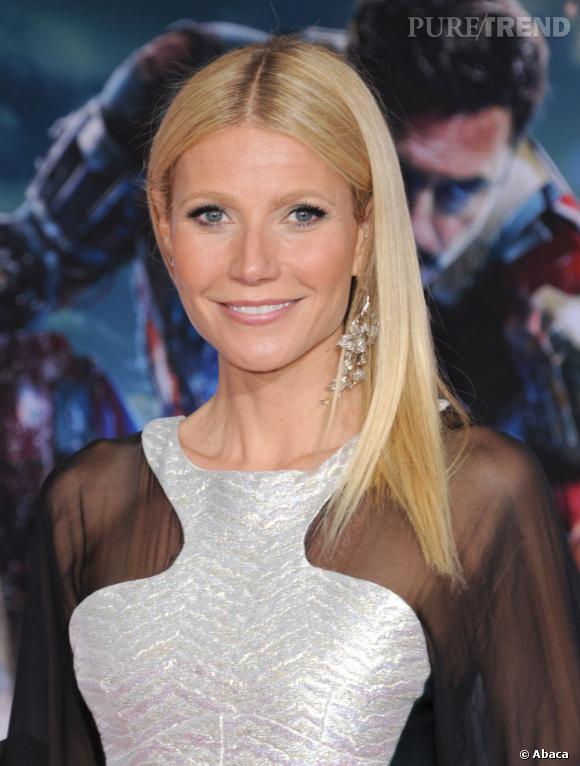 Les plus beaux blonds d'Hollywood : Gwyneth Paltrow entretient avec soin son blond très clair.