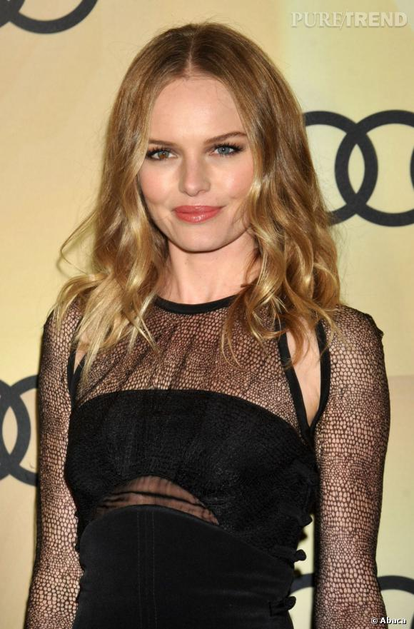 Les plus beaux blonds d'Hollywood : Kate Bosworth et son blond tirant sur le châtain.