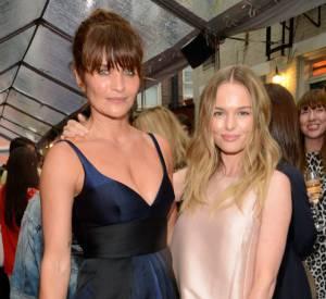 Helena Christensen et Kate Bosworth à la soirée Stella McCartney.