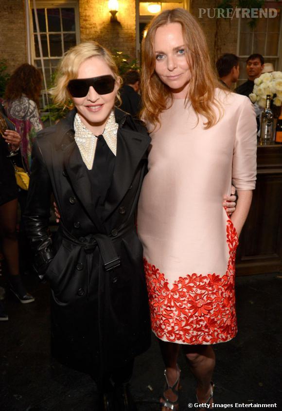 Madonna et Stella McCartney à la soirée Stella McCartney.