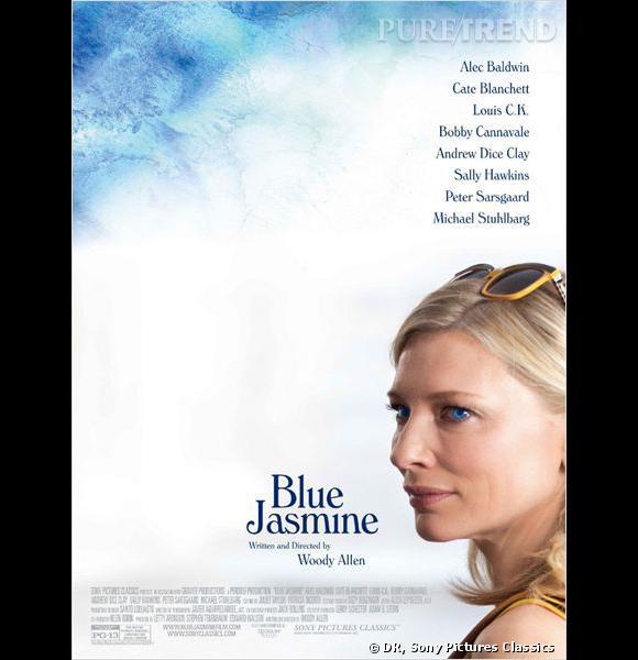 """Cate Blanchett est à l'affiche du nouveau film de Woody Allen, """"Blue Jasmine"""", comme héroïne dramatique."""