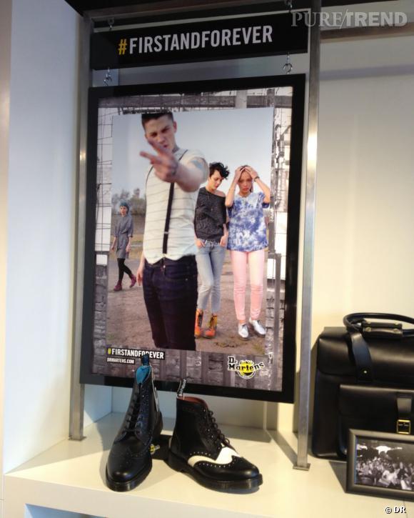 Dr Martens dévoile l'intérieur de son nouveau concept store