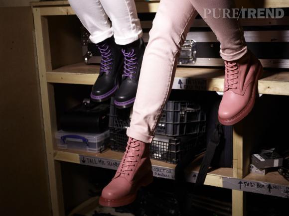 Dr. Martens dévoile son nouveau concept store parisien ! A shopper : la collection Printemps-Eté 2013.