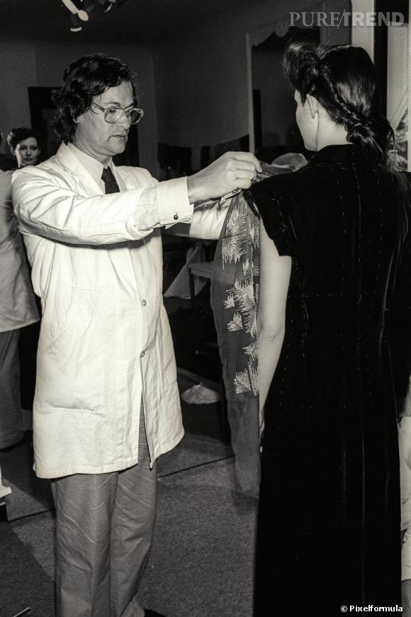 Jean-Louis Scherrer en 1978.