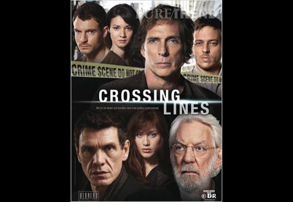 """Toutes les nationalités se mêlent dans """"Crossing Lines"""". Et oui, c'est bien Marc Lavoine sur l'affiche !"""