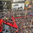 Vue de Time Square lors de l'avant première du film.