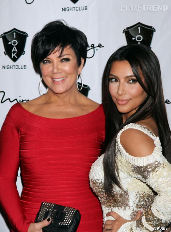 Kim Kardashian : Kris Jenner approuve le prénom North.