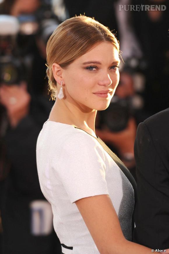 """Léa Seydoux fête aujourd'hui ses 28 ans, quelques semaines après que son film """"La Vie d'Adèle"""" ait reçu la Palme d'Or du Festival de Cannes."""