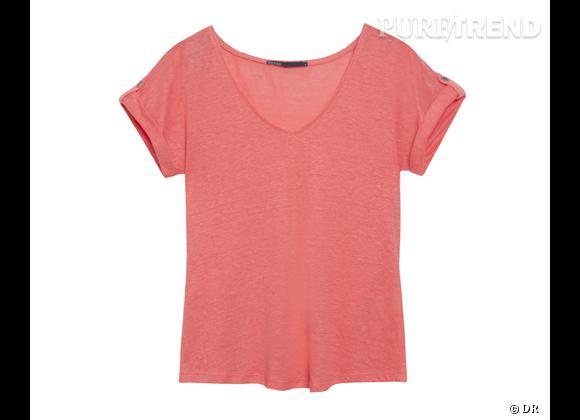 Le must have de Chloé     T-shirt en coton bio Ekyog, 29,50 € soldé