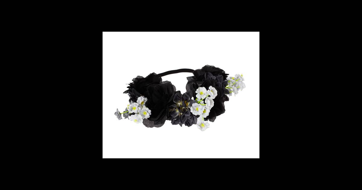 le must have d 39 am lie headband fleurs asos 13 26. Black Bedroom Furniture Sets. Home Design Ideas