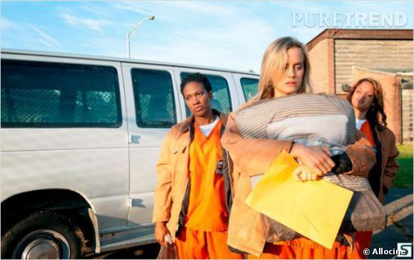 """""""Orange is the new Black"""" : Taylor Schilling joue Piper Chapman en référence à Piper Kerman dont sont issus les mémoires qui ont inspiré la série."""