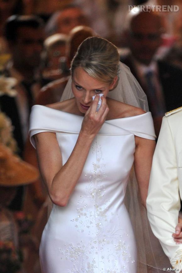 Charlene de Monaco s'est récemment confiée sur la cause de ses larmes lors de son mariage afin de dissiper toutes les rumeurs.