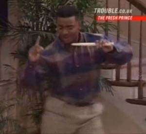 Compilation des danses de Carlton dans Le Prince de Bel Air.