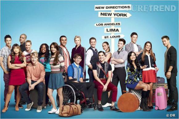 """À la rentrée, le casting de """"Glee"""" reviendra donc sur nos écrans pour 3 épisodes."""