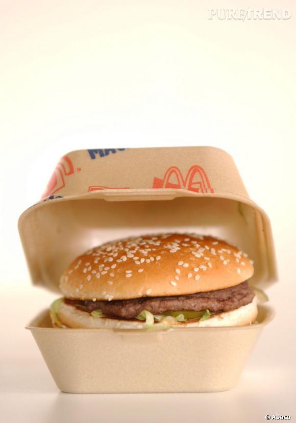 Combien de calories pour ce burger ? En réalité, les clients des fast food s'en moquent.
