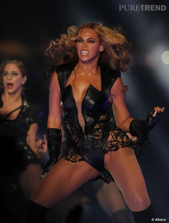 C'est vrai que sur scène Beyoncé donne tout.