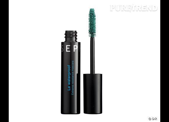 Shopping beauté : adoptez le mascara coloré cet été    Mascara Le Waterproof vert, Sephora, 15,90 €