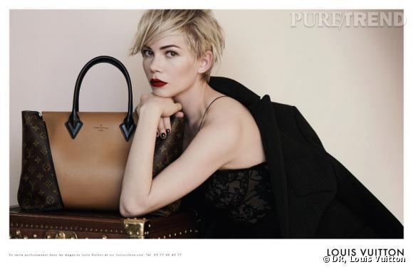 Michelle Williams pour Louis Vuitton.