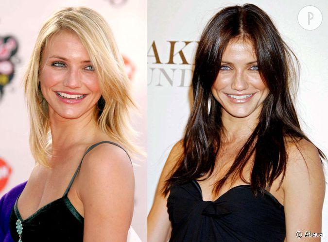 Cameron diaz plus canon en blonde ou en brune - Passer de blonde a brune ...