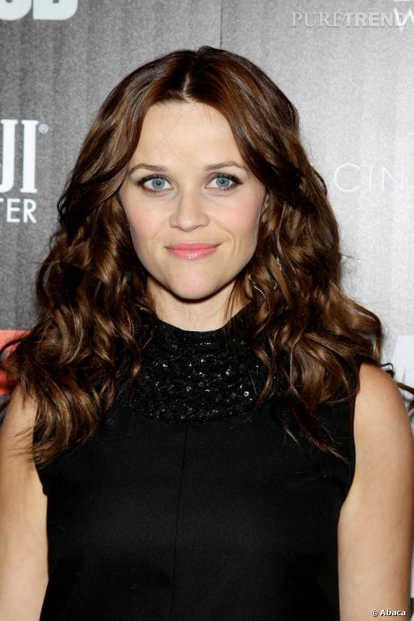Reese Whitherspoon brune, c'est pas terrible !