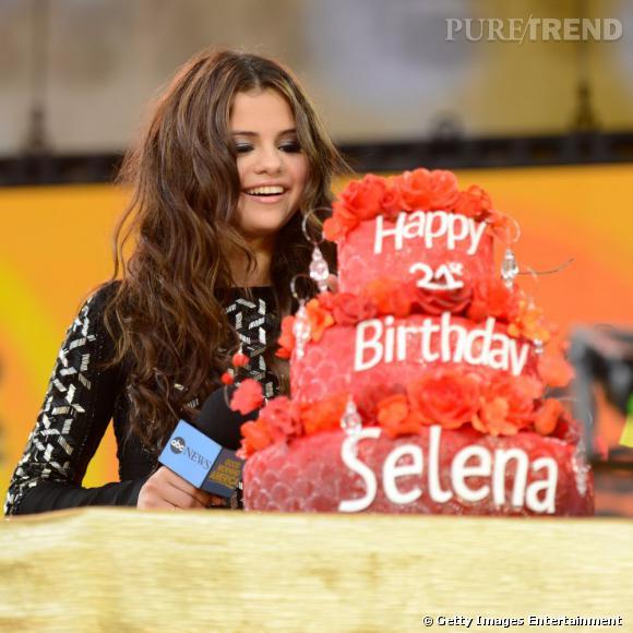 Selena Gomez, une semaine de célébrations pour son anniversaire.