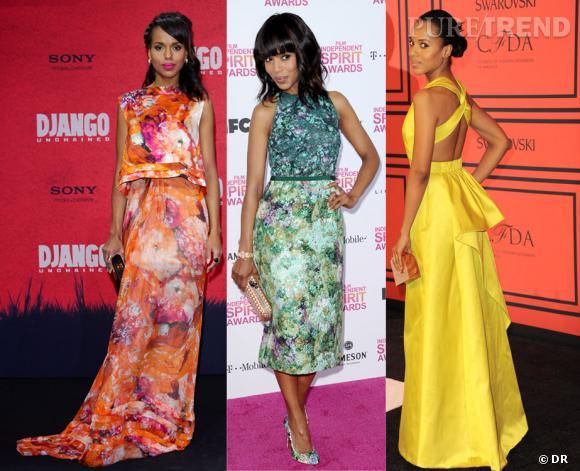 Kerry Washington est la star la mieux habillée de 2013 selon Vanity Fair.