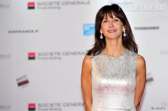 Sophie Marceau, troisième du classement des personnalités préférées des Français...