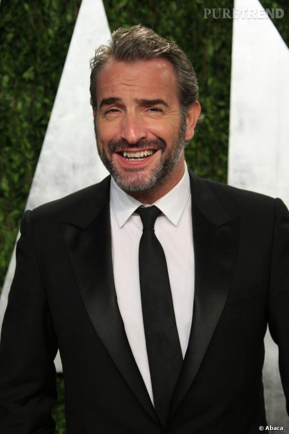 Jean Dujardin charme par son humour et son sourire : il est 4ème de la liste des personnalités préférées des Français...