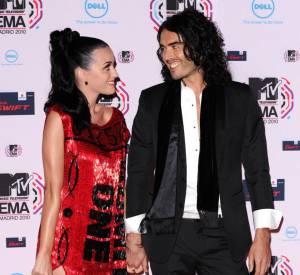 Katy Perry et Russell Brand, un couple qui n'aura pas duré.