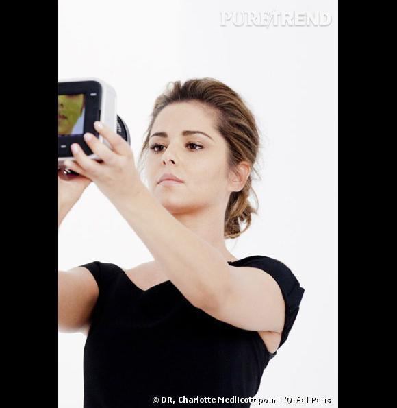 Cheryl Cole, sans maquillage pour L'Oréal Paris.