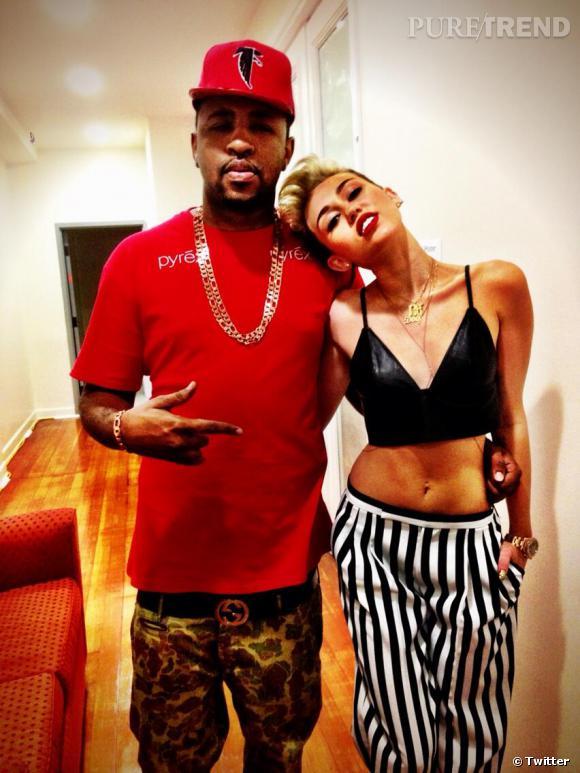 Miley Cyrus s'invite sur le titre 23 de Mike WiLL, artiste à l'origine de son single We can't stop.