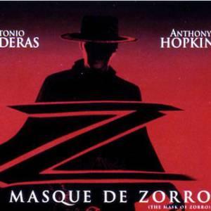 """Antonio Banderas en 5 rôles. Le film : """"Le masque de Zorro"""".  L'année : 1998 Son rôle : Alejandro Murrieta/Zorro."""