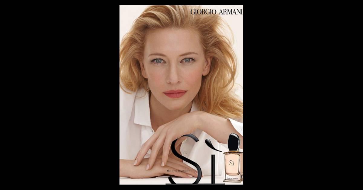 Cate Blanchett Levre Rose