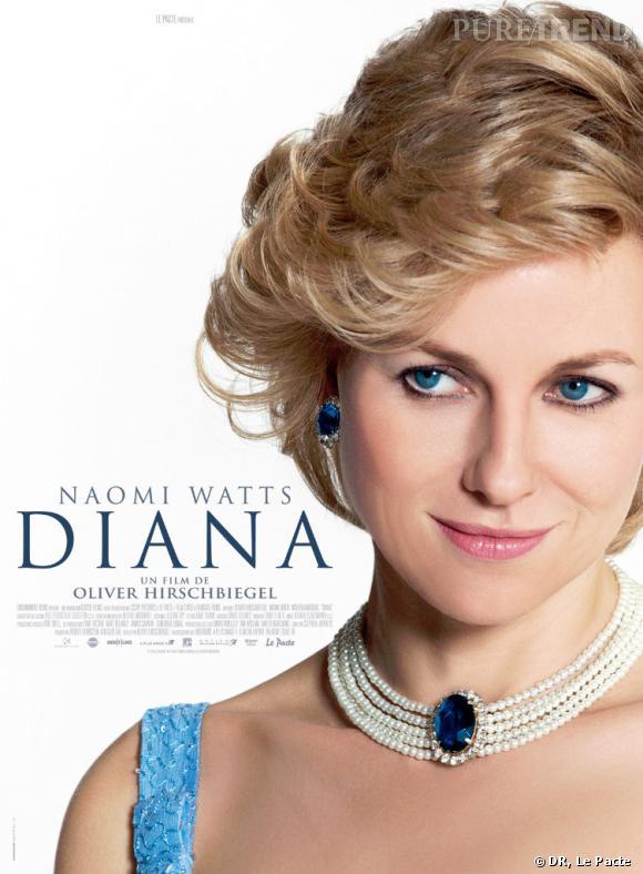 """Naomi Watts dans le rôle de Lady Diana dans """"Diana"""" d'Olivier Hirschbiegel."""