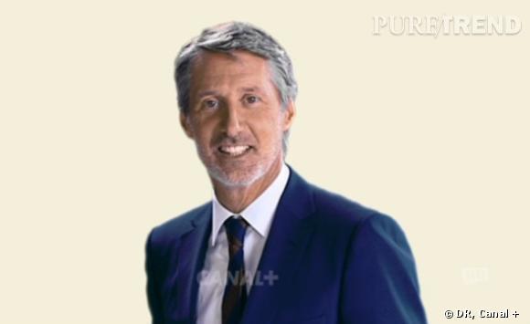 Antoine de Caunes se lance ce soir, dès 19h10 sur Canal + et en clair !
