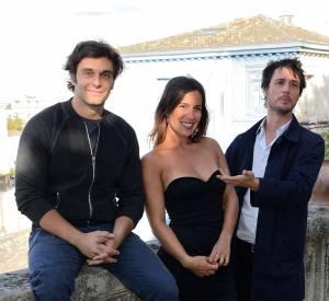 """Pio Marmai partage l'affiche de """"Grand Départ"""" avec Zoé Felix et Jeremie Elkaim."""