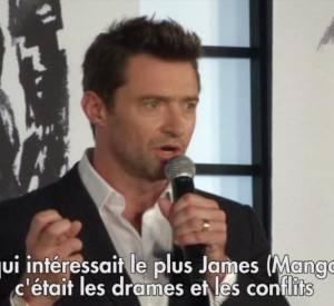 """Hugh Jackman fait la promotion de """"Wolverine : le combat de l'immortel"""" au Japon."""