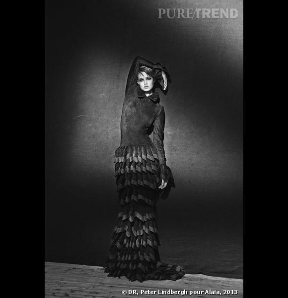 Alaïa, robe longue, A/H 2012 Archives personnelles de Monsieur Alaïa